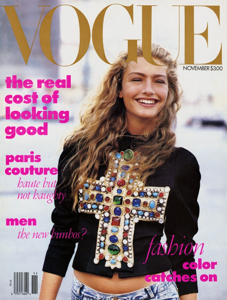 First Vogue Cover