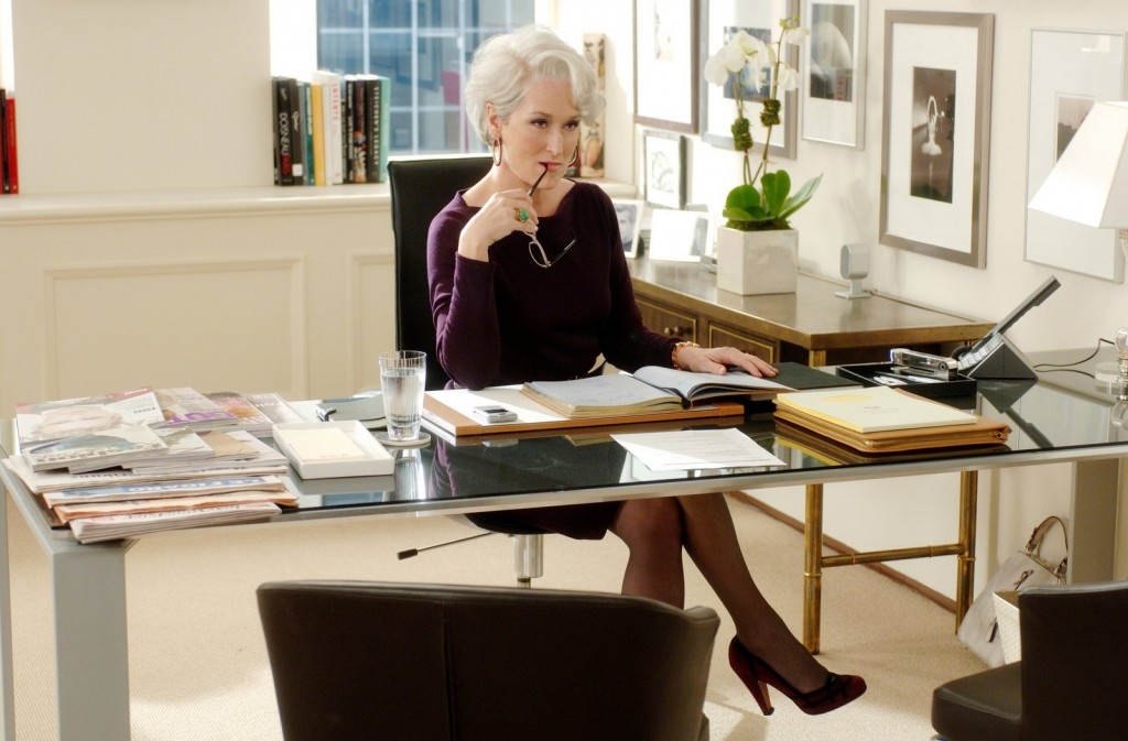 The Devil Wears Prada (2006) Directed by David FrankelShown: Meryl Streep