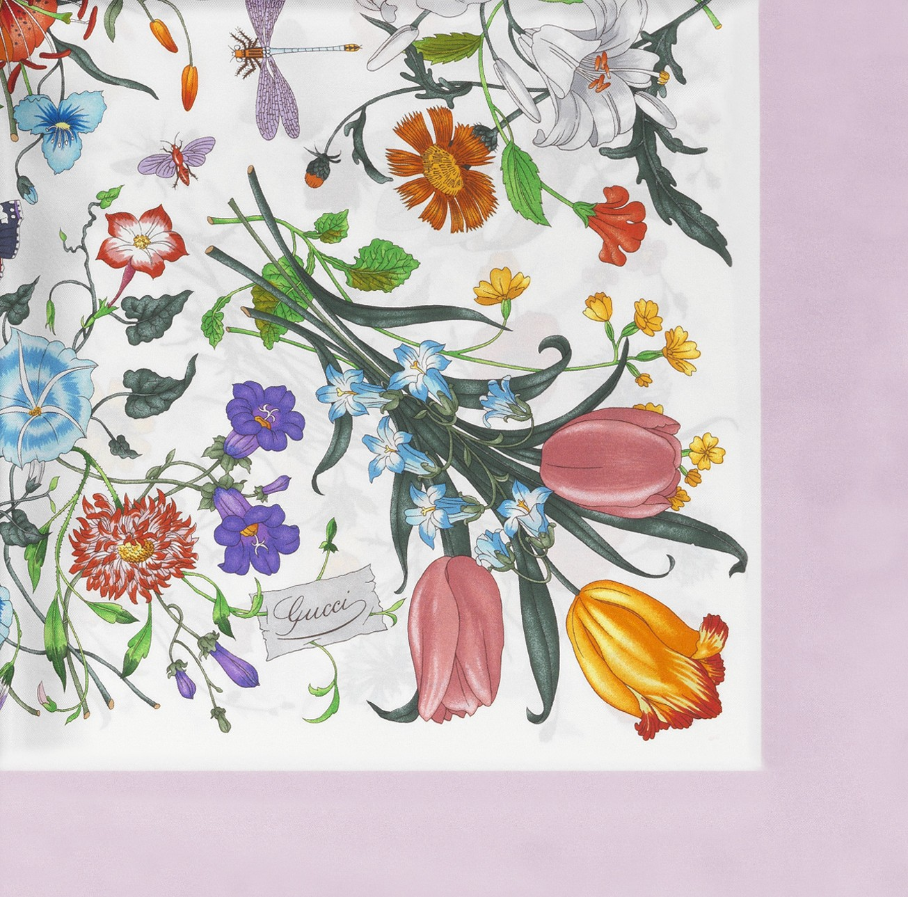 gucci flora scarf