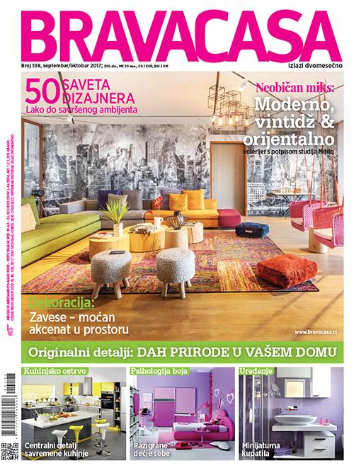 Cover No108 Bravacasa Septembar-Oktobar 2017